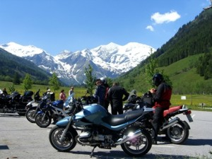 Bikertreff in den Hautes-Alpes